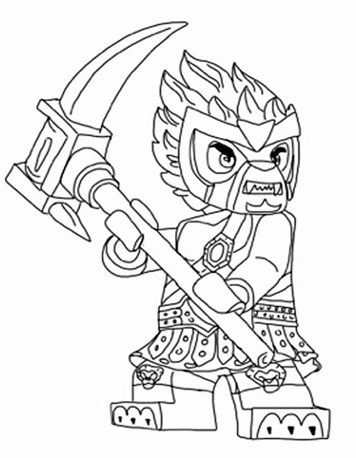 Summary -> Lego Chima Coloring Pages Free Coloring Pages