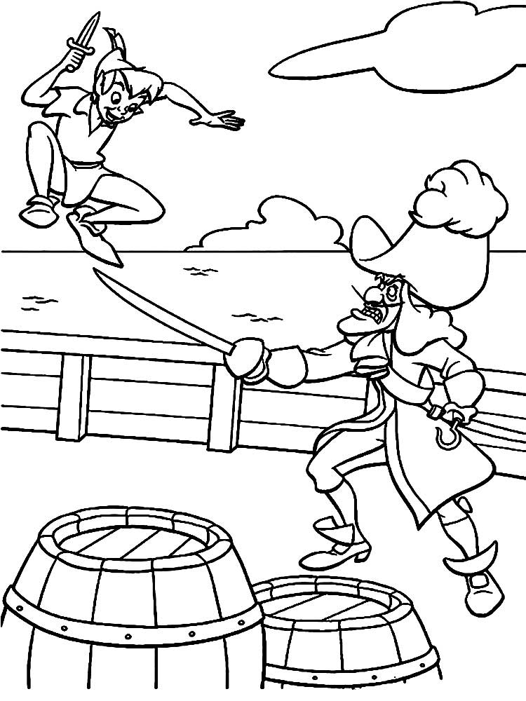 peter pan 2 coloring pages - photo#26